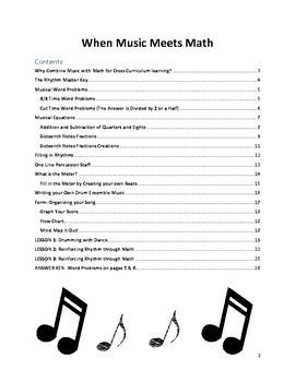 When Music Meets Math