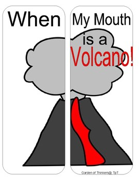 When My Mouth is a Volcano lapbook