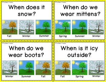 When Questions About the Seasons