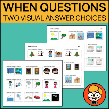 When Questions with Two Visual Answer Choices