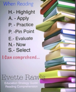 When Reading H.A.P.P.E.N.S. I Can Comprehend ~FREEBIE~ Reading strategy