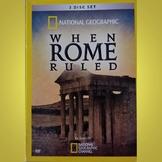 When Rome Ruled: Killing Caesar -  Video Worksheet with Key