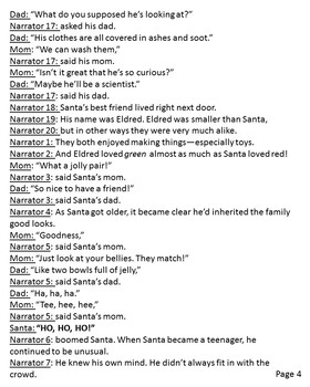 When Santa Was a Baby Reader's Theater and Extension Actvities