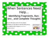 When Sentences Need Help....