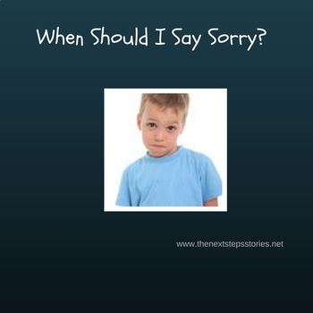 When Should I Say Sorry?
