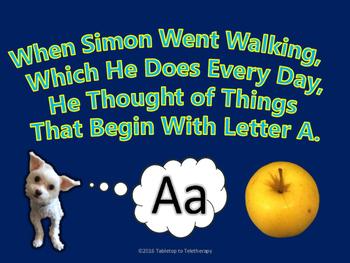 When Simon Went Walking (ALPHABET)