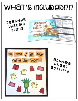 Froggy Get's Dressed- Behavior Basics Book Club