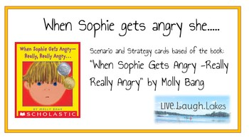When Sophie Gets Angry Scenario and Strategy Cards