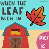 When The Leaf Blew In Speech Therapy Book Companion