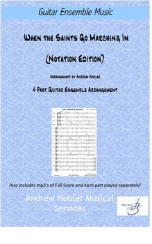 When The Saints Go Marching In (Notation Edition) Includes