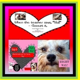 """When The Teacher Says """"No!"""" Accept It - Social Skill Ppt Rescue Dogs' Series"""
