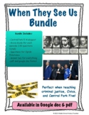 When They See Us Bundle (Central Park Five, Movie Guide)