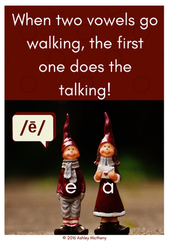 When Two Vowels Go Walking...POSTER