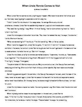 Story and Questions Grades 2 - 5