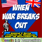 Revolutionary War Breaks Out: American and British Strengt