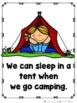 When We Go Camping  (A Sight Word Emergent Reader and Teac