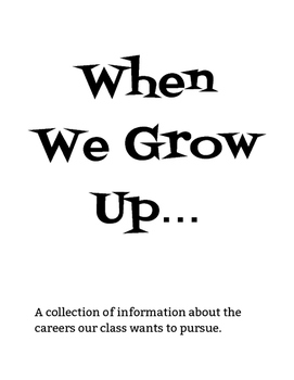 When We Grow Up Book Cover