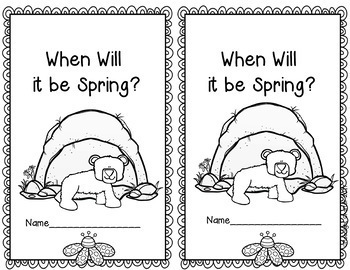 When Will it be Spring?  Book Companion
