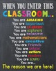 When You Enter This CLASSROOM Teacher Chalk it up Chalkboa