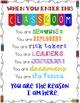 When You Enter This Classroom... Poster Set