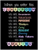 When You Enter This Classroom You Are.... Amazing