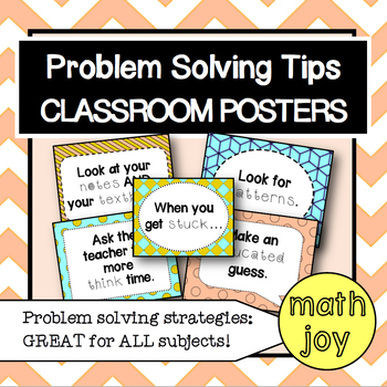 Problem Solving Posters