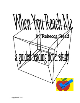 When You Reach Me a guided reading novel study