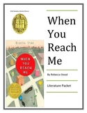 """""""When You Reach Me"""", by Rebecca Stead, Huge 55 Page Unit!"""