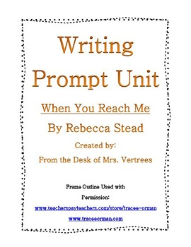 When You Reach Me by Rebecca Stead Writing and Journal Prompt Bundle
