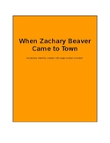 When Zachary Beaver Came to Town Vocabulary