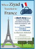 When Ziyad Traveled to France - A short story with questions