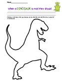 When a DINOSAUR is mad.- Dealing with Anger