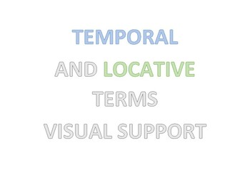 When and Where Visual Support