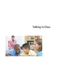 When do I talk in class?