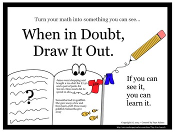 When in Doubt, Draw It Out (Classroom Motto)
