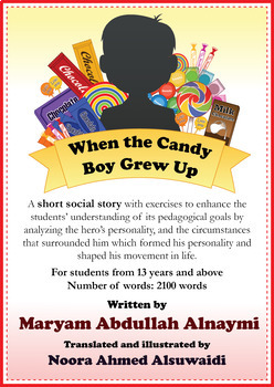 When the Candy Boy Grew Up - A short story with exercises
