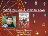 When the Circus Came to Town Harcourt Storytown Day 1 PowerPoint