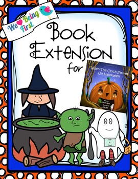 When the Clock Strikes on Halloween Book Extension