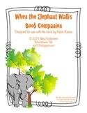 When the Elephant Walks {Book Companion + Speech & Language Activities}