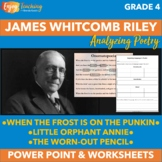 Analyzing Poetry Activities with Poems of James Whitcomb Riley