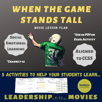 When the Game Stands Tall: Lesson and Activities