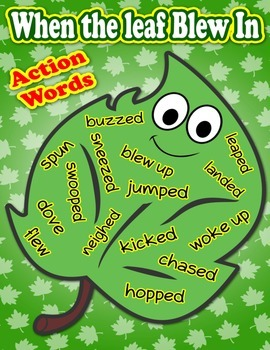 When the Leaf Blew - Adjectives Poster