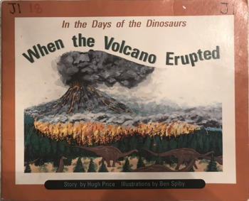 When the Volcano Erupted by Hugh Price guided reading work