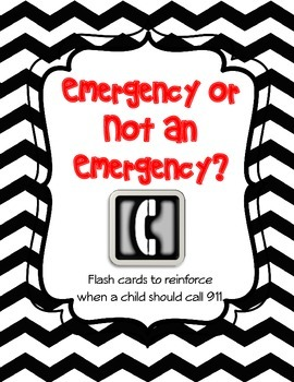 When to Call 911 - Emergency/Non-Emergency Matching Game