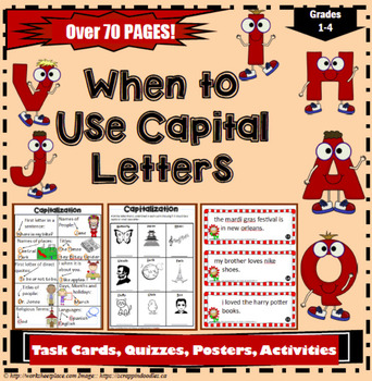 When to Use Capital Letters, All About Capitalization Unit