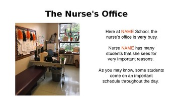 When to Visit the Nurse PowerPoint