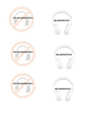 When to use headphones- Visual Cues