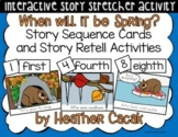When will it be Spring? Story Sequence and Retelling Cards