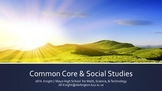 Common Core & Social Studies