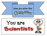 When you enter this classroom... Door Banner